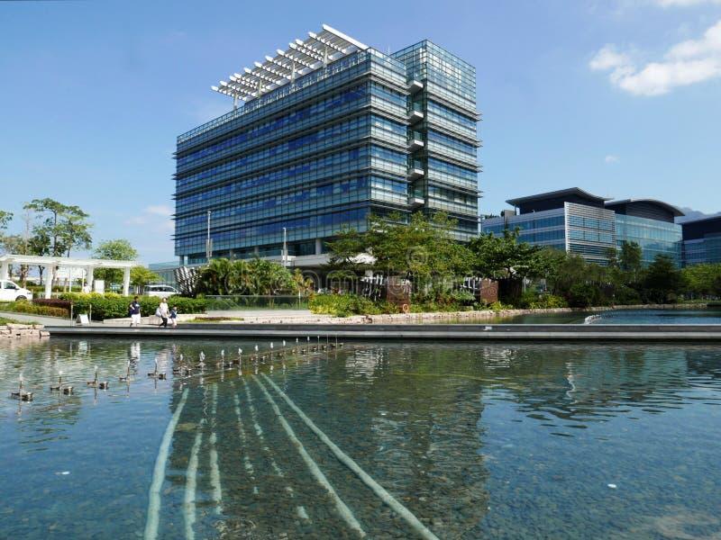 Hong- Kongtechnologie-Zentrum lizenzfreie stockbilder