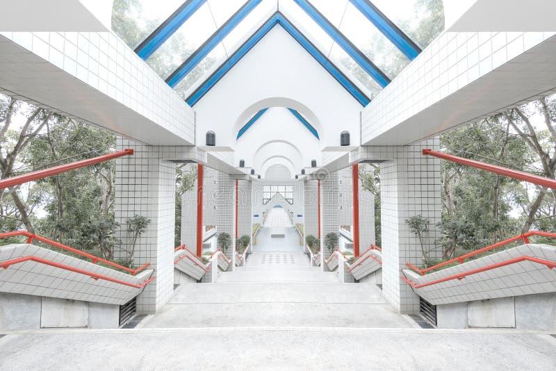 Hong kongu architektury obrazy stock