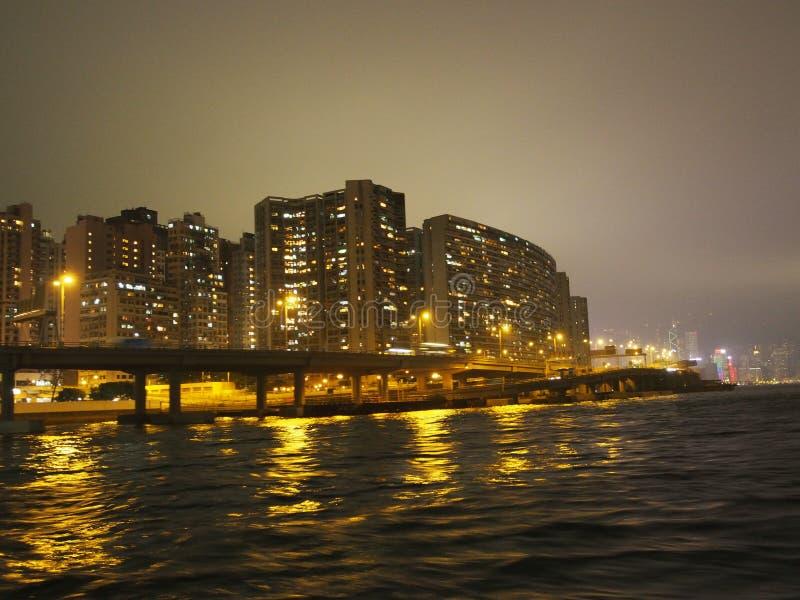 Hong kongu budynku obrazy royalty free