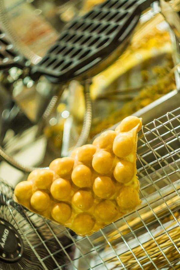 Hong- Kongwaffeln stockfotografie
