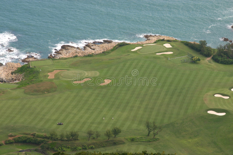 hong kursowy golfowy kong zdjęcia royalty free