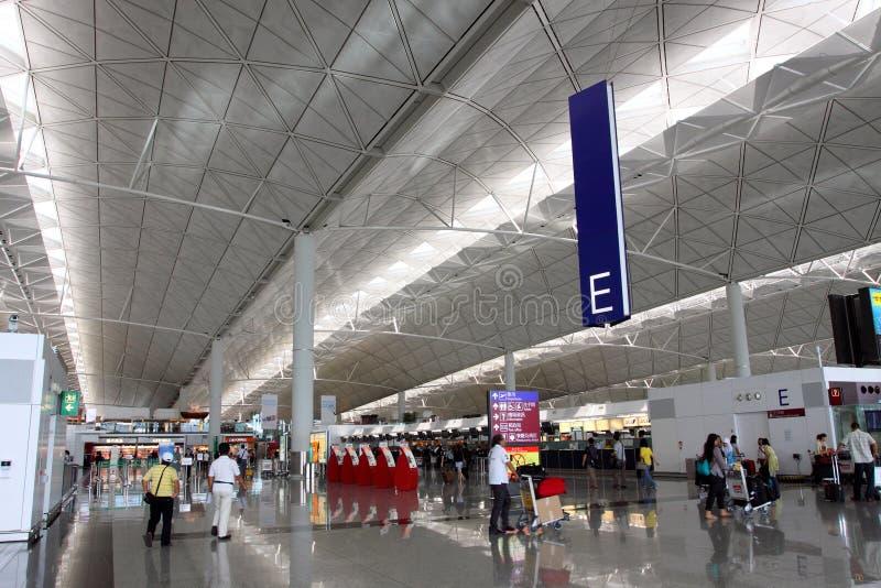 hong lotniskowy kong int l fotografia royalty free