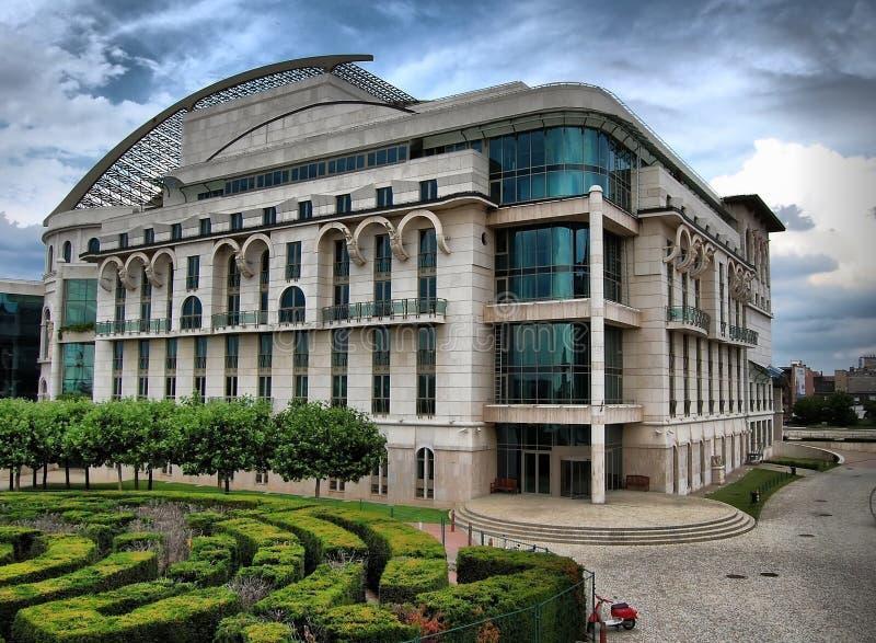 Hongaars Nationaal Theater royalty-vrije stock fotografie