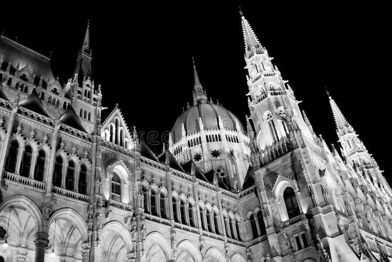 Hongaars Parlementsgebouw royalty-vrije stock foto's