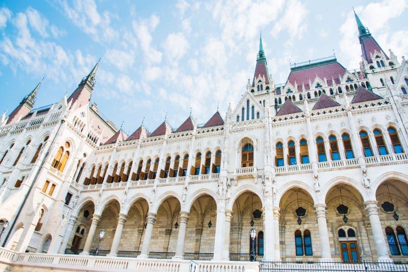 Hongaars Parlementsgebouw in Boedapest royalty-vrije stock afbeeldingen