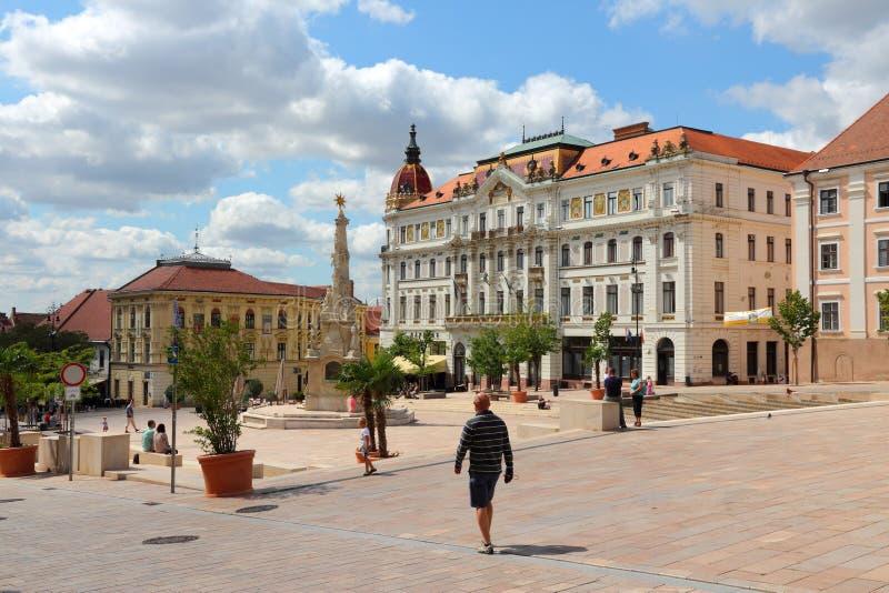 Hongarije - Pecs royalty-vrije stock fotografie