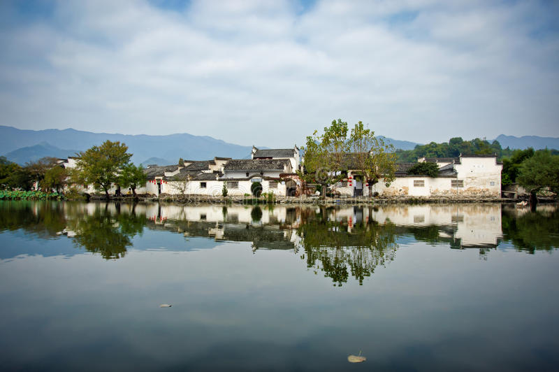 Hongcun, Anhui-provincie, China royalty-vrije stock fotografie