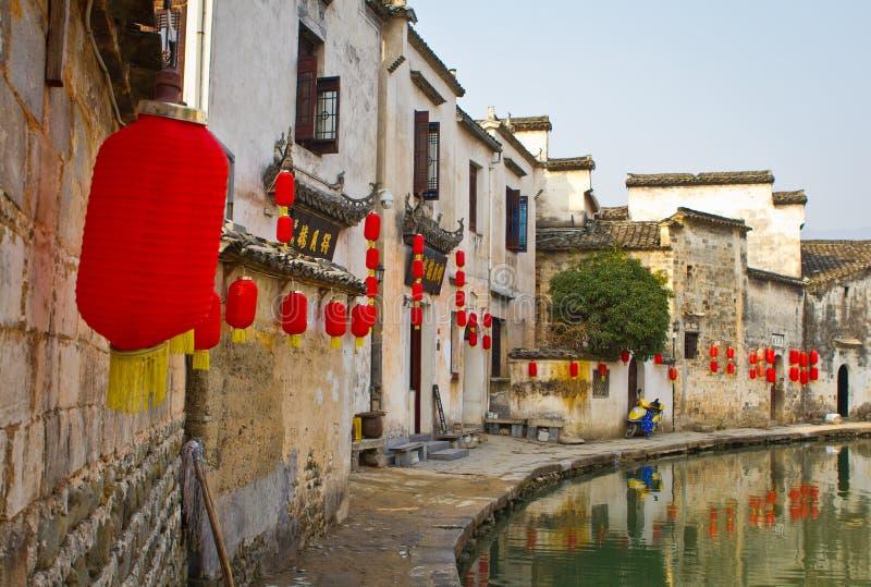 Hongcun, Huangshan στοκ εικόνα