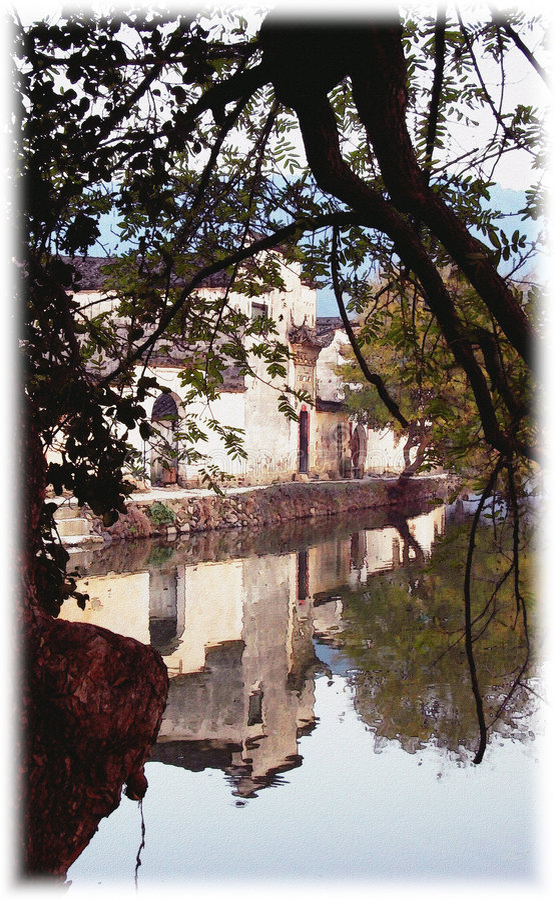 Free Hongcun Impression, Anhui, China Royalty Free Stock Images - 761119