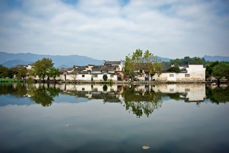 Hongcun, província de Anhui, China fotografia de stock royalty free