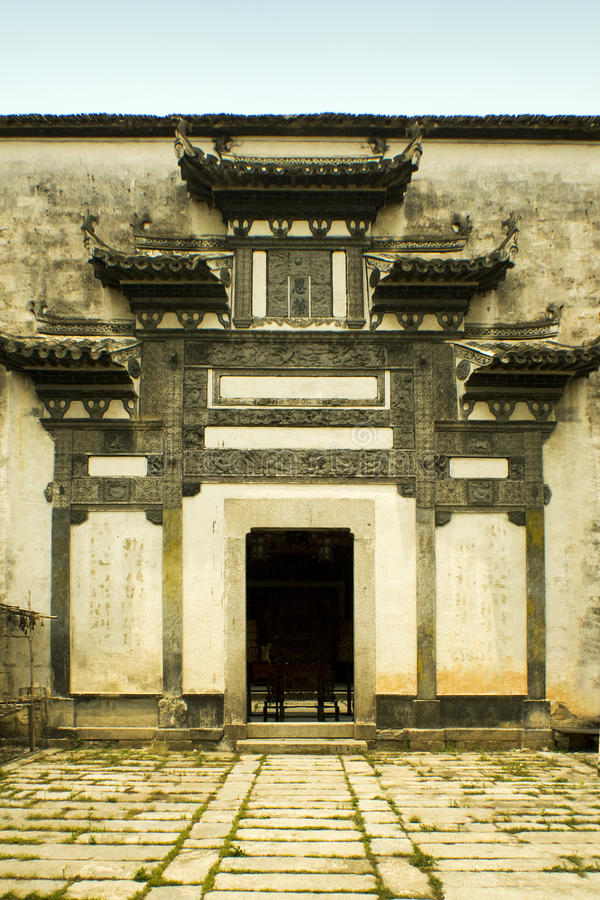 Hongcun, typical huizhou architecture royalty free stock images