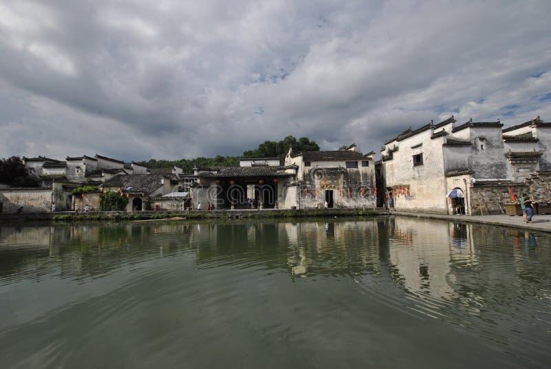Hongcun wioska w Anhui, Chiny zdjęcie stock