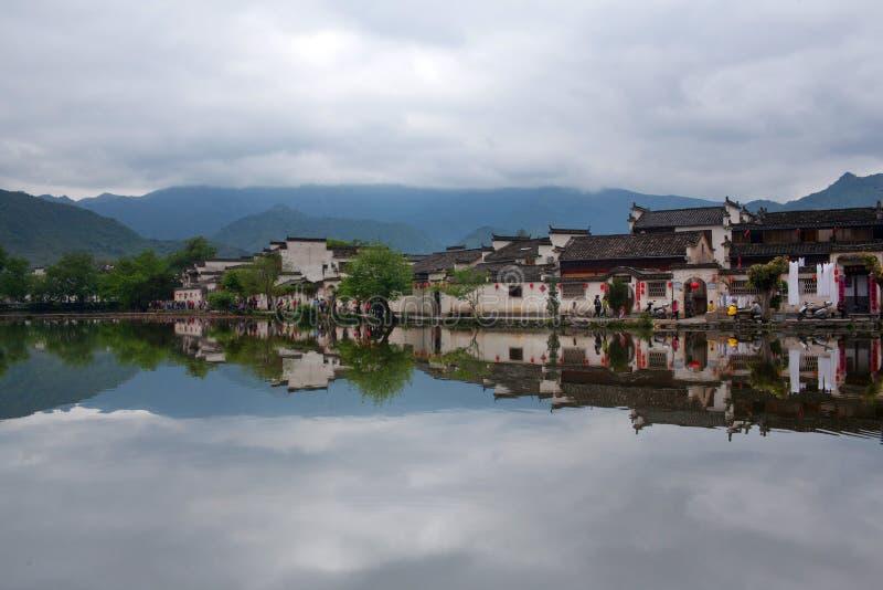 Hongcun wioska w Anhui Provunce, Chiny obrazy royalty free