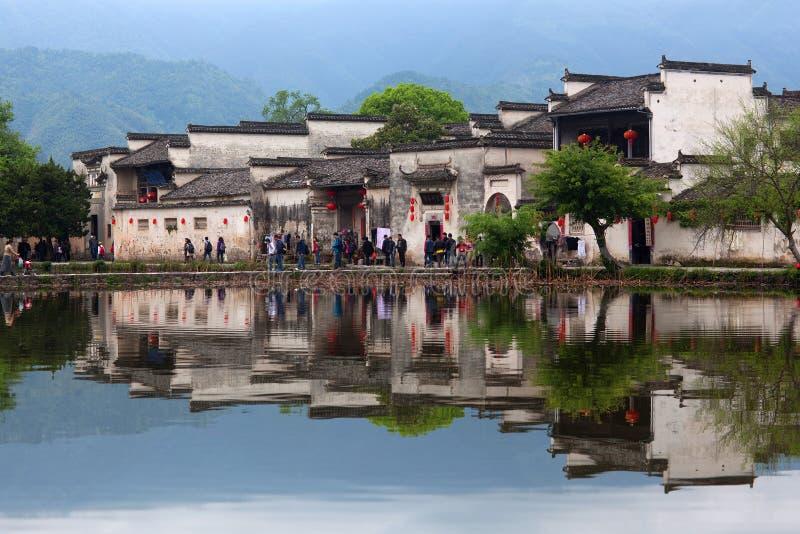 Hongcun wioska w Anhui Provunce, Chiny zdjęcia stock