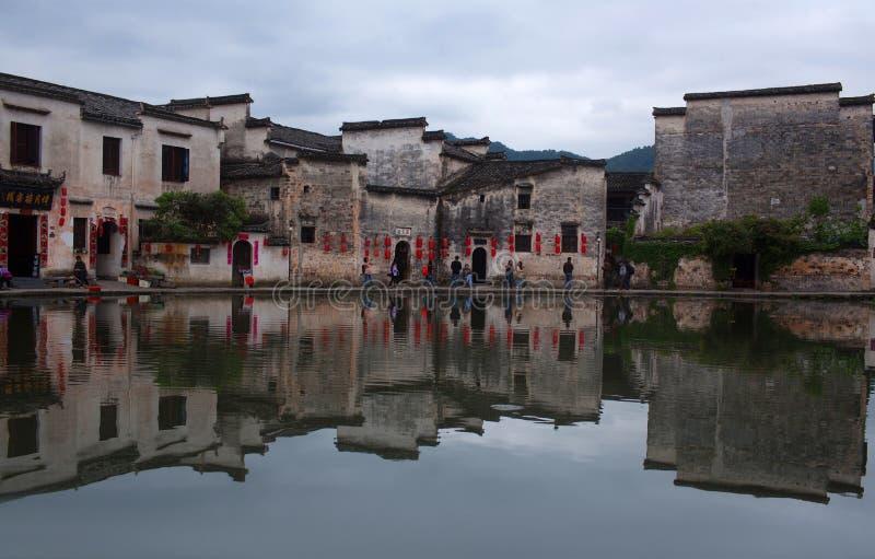 Hongcun wioska w Anhui Provunce, Chiny obraz royalty free