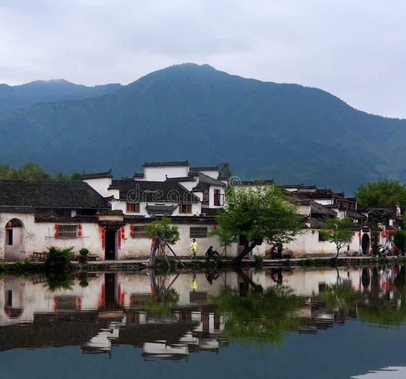 Hongcun wioska w prowincja anhui, Chiny obraz royalty free