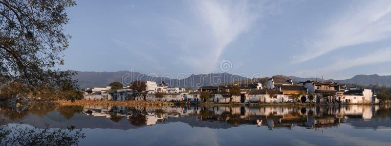 Hongcun, world cultural heritage stock image