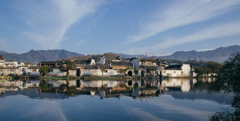 Hongcun, world cultural heritage royalty free stock photography