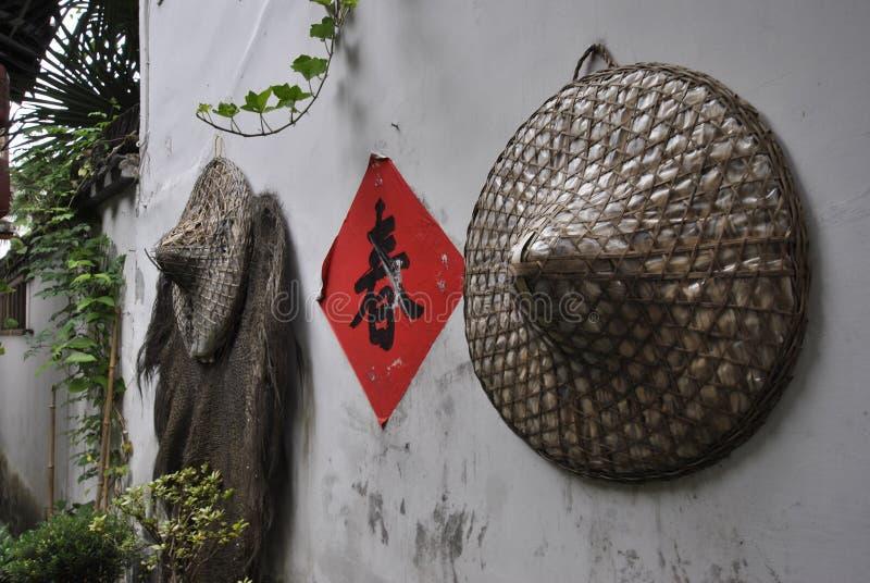 Hongcundorp in Anhui, China royalty-vrije stock foto