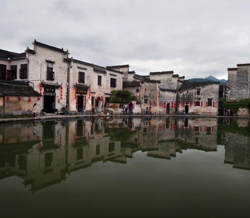 Hongcundorp in Anhui-Provincie, China royalty-vrije stock fotografie