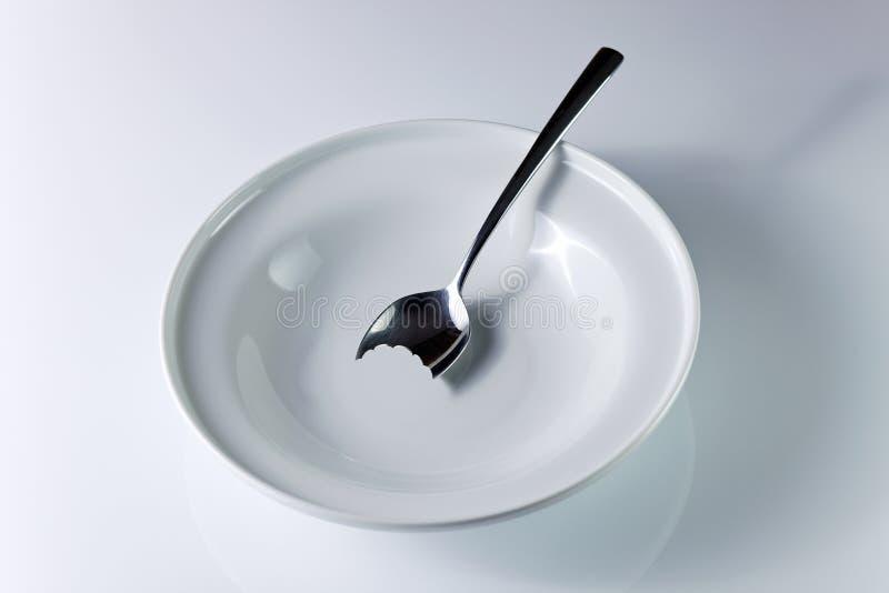 Honger stock fotografie