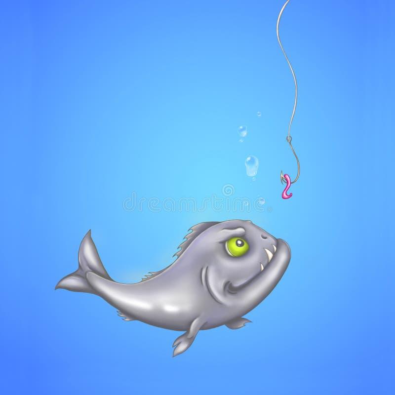 Download Hongerige piranha stock illustratie. Illustratie bestaande uit nave - 29500546
