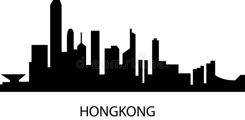 Hongkong ilustracji