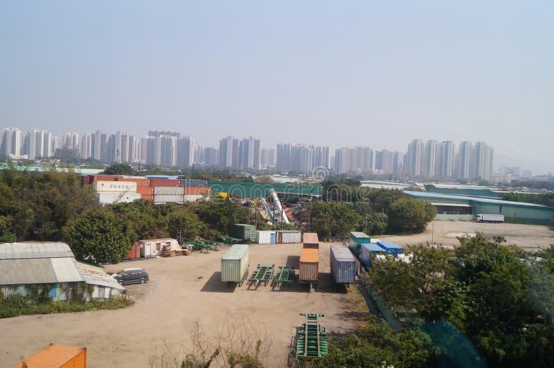 Hongkong, Chiny: Tuen Mun naturalna sceneria fotografia royalty free