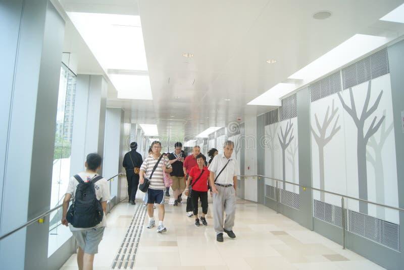 Hongkong, Chiny: Tuen Mun times square obraz stock
