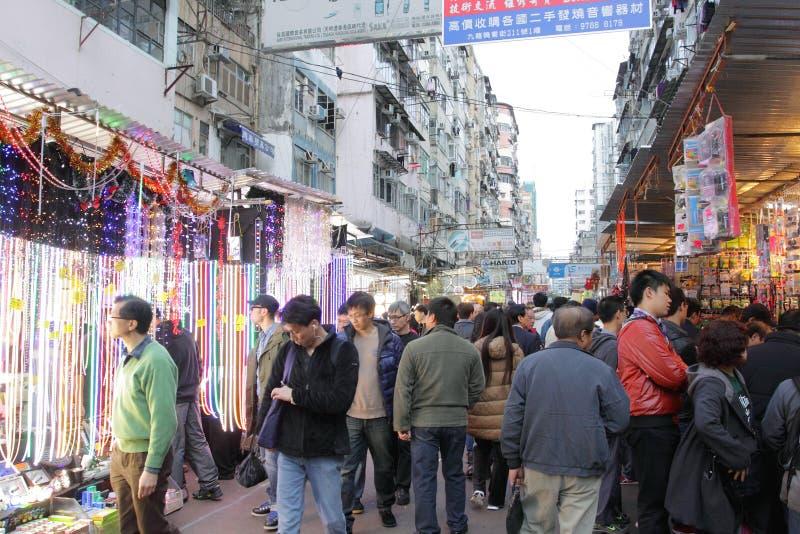Hongkong: De Straat van Apliu royalty-vrije stock afbeelding