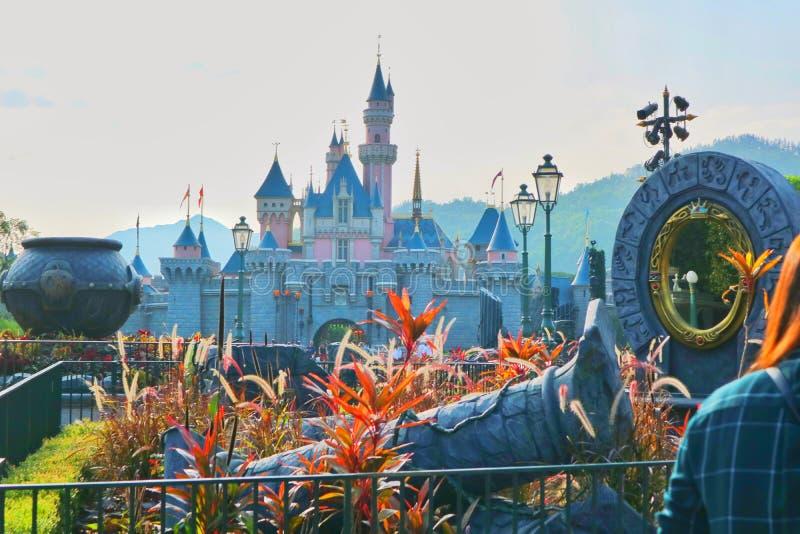 Hongkong Disneyland royalty-vrije stock foto