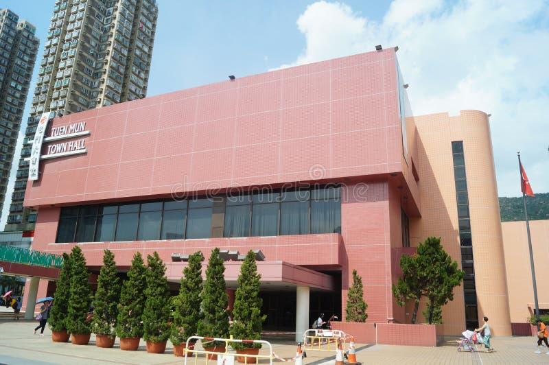 Hongkong Tuen Mun Hall obrazy stock