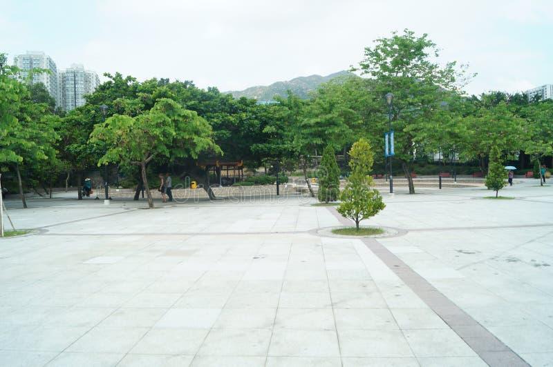 Hongkong Tuen Mun park obrazy royalty free