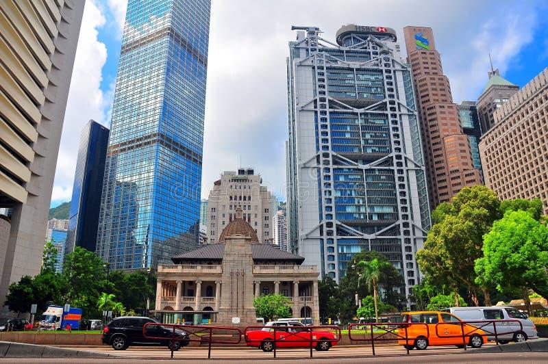 Hongkong urbanscape royalty-vrije stock afbeelding