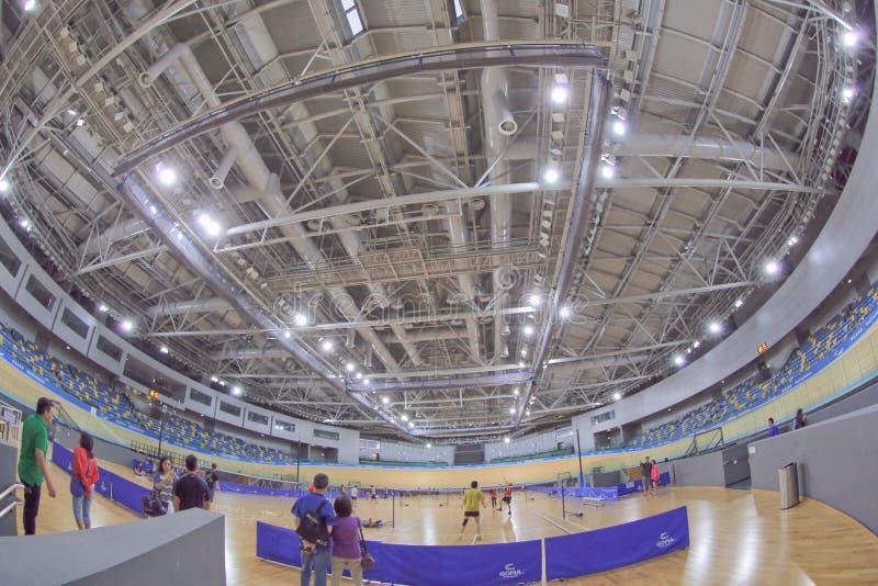 Hongkong Velodrome na Tko 2014 fotografia stock