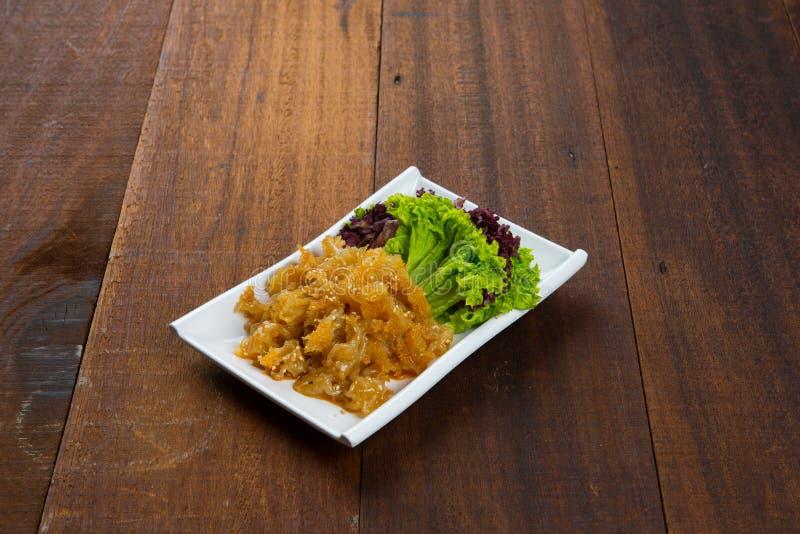 Hongo blanco chino cocinado fotografía de archivo libre de regalías