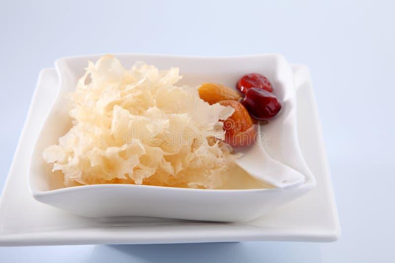 Hongo de jalea de la nieve foto de archivo