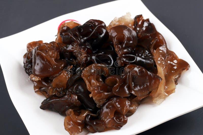 Hongo negro imagen de archivo