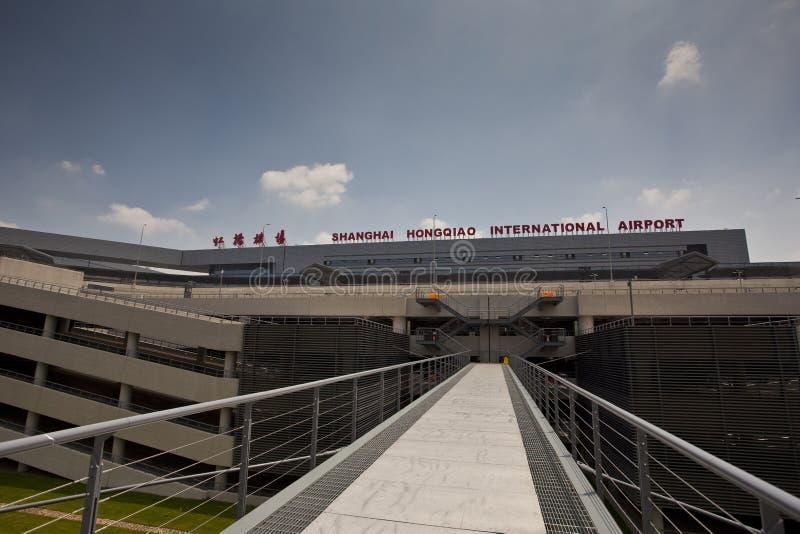 hongqiao Σαγγάη αερολιμένων στοκ φωτογραφία με δικαίωμα ελεύθερης χρήσης