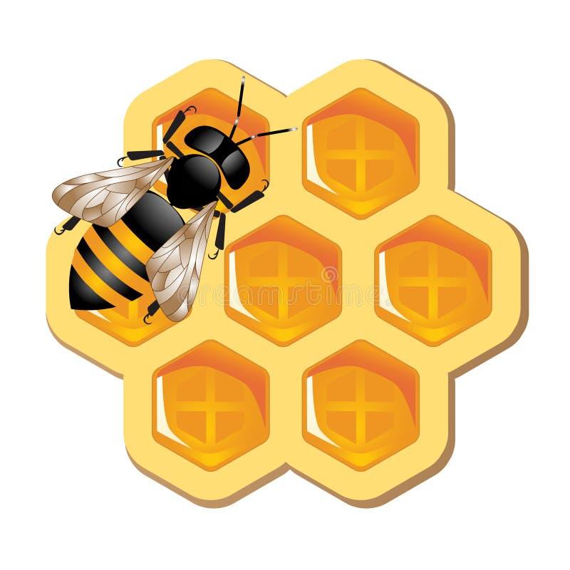 Honig-Konzept vektor abbildung