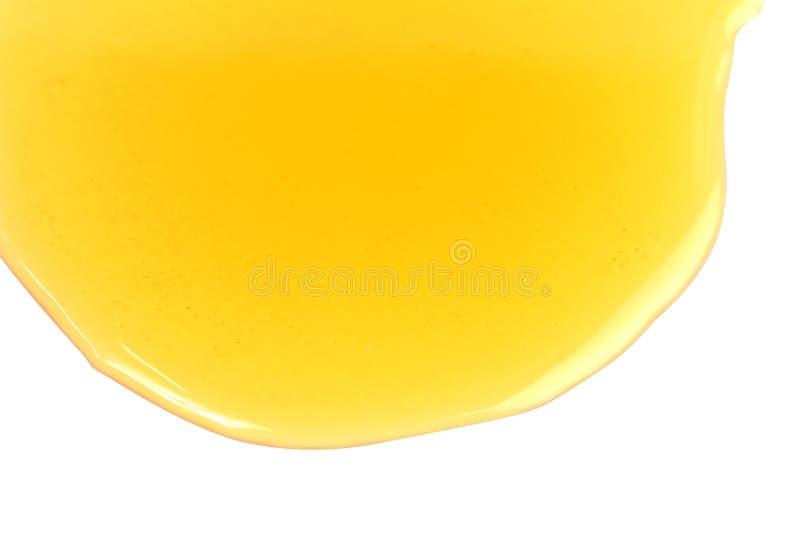 Honigbienenbratenfett, süßer Honighonig lokalisiert auf selektivem Fokus des weißen Hintergrundes stockfotos