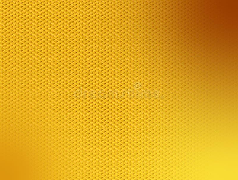 Honings ruw behang stock illustratie