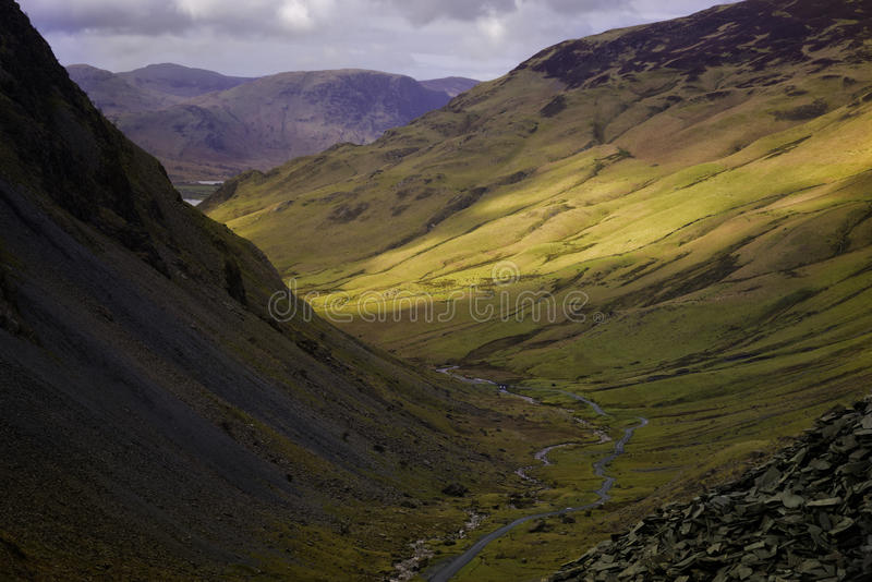 Honister Pass, Lake District, United Kingdom royalty free stock photos