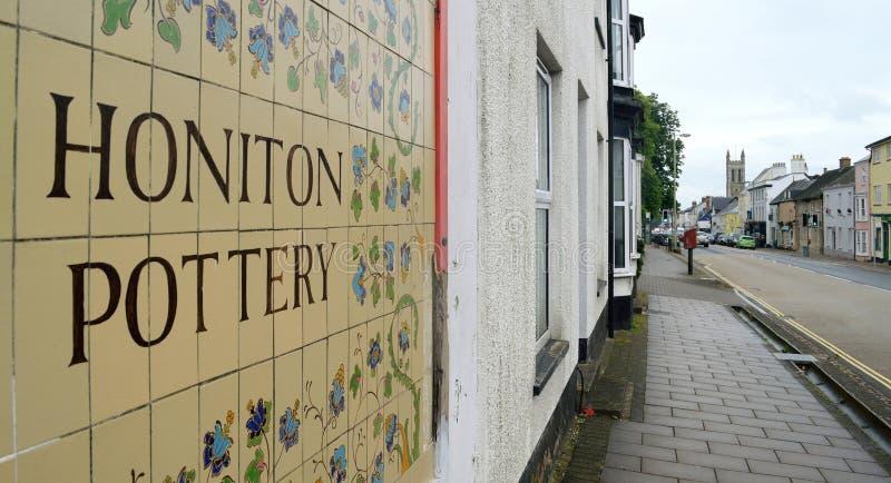 Honiton fotografia stock