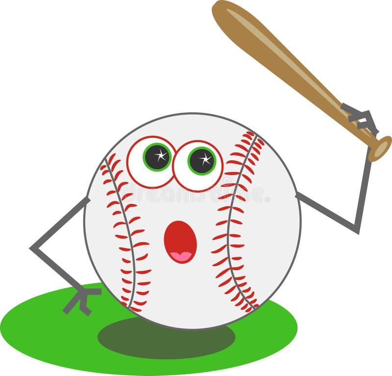Download Honkbal vector illustratie. Illustratie bestaande uit sporten - 43457