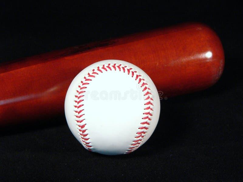 Honkbal En Knuppel Stock Afbeeldingen
