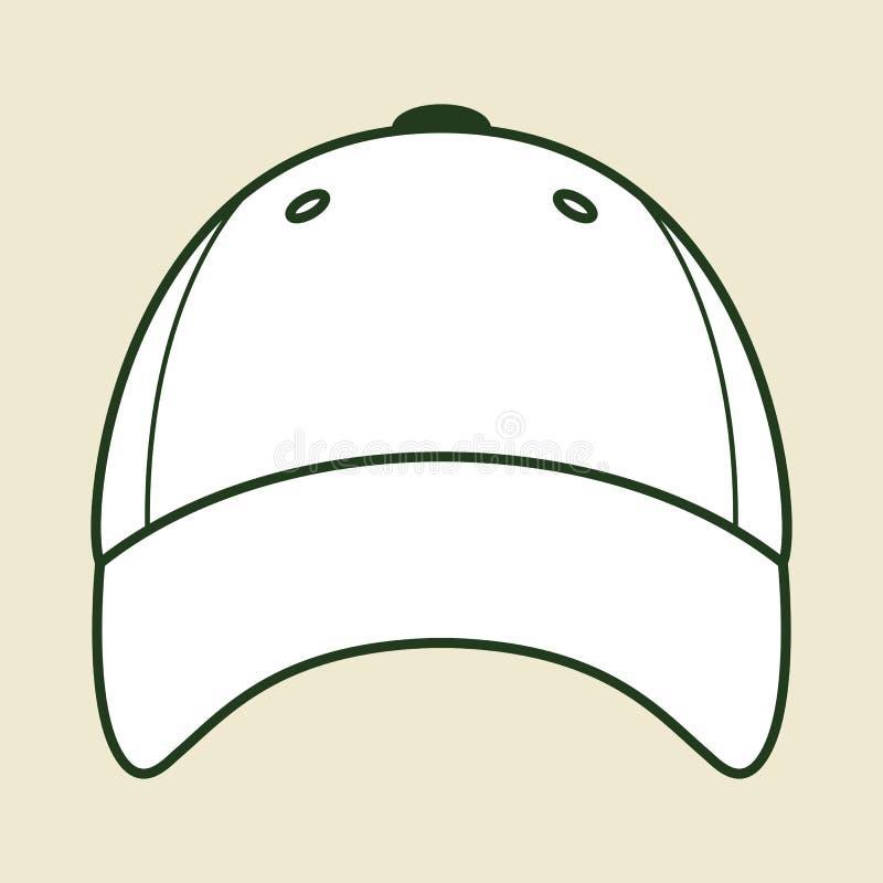 Honkbal GLB stock illustratie