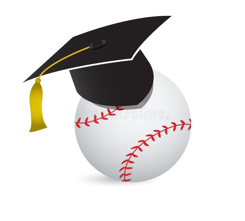 Honkbal opleidingsschool vector illustratie