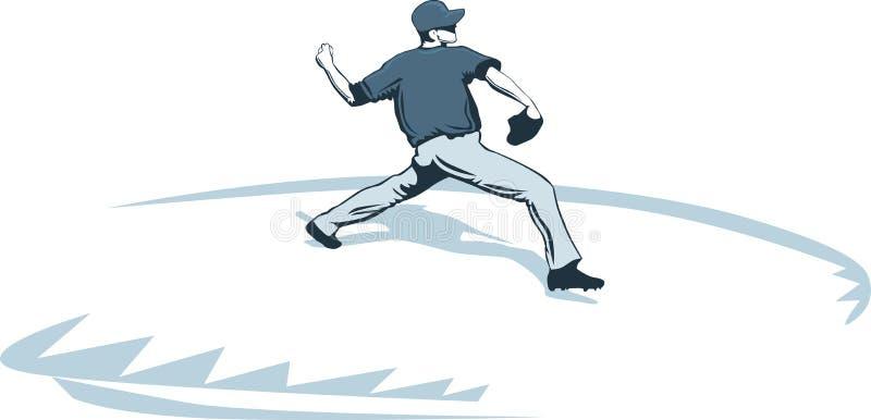 Download Honkbalwaterkruik vector illustratie. Illustratie bestaande uit handschoen - 39114866