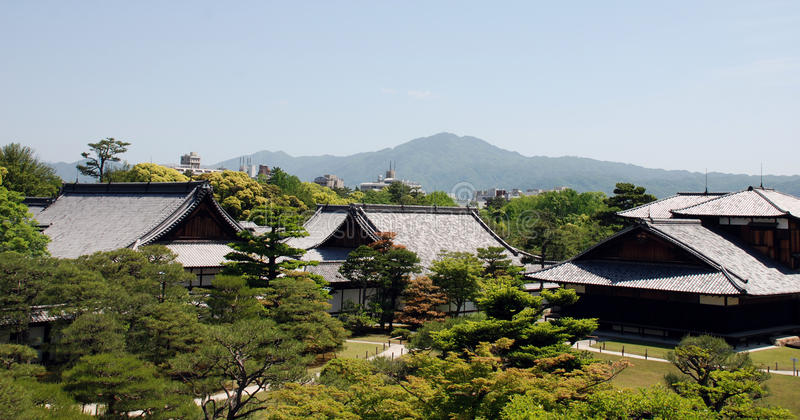 Honmaru Palace in Nijo Castle royalty free stock image